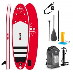 PLANCHE STAND UP PADDLE GONFLABLE PACK COMPLET FIT BPADM DE FIT FOR LIFE